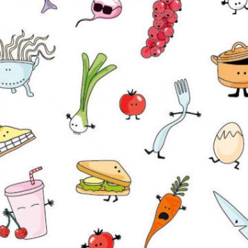 Cococook, illustration cuisine & food, Aurélie Castex